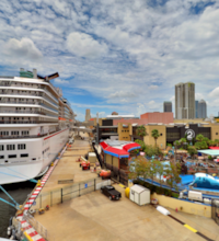 An HDR interactive panoramic image of the SS American Victory. The photographic images were shot with a Canon S95.