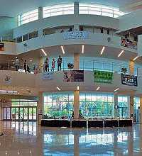 This link leads to a panorama of the USF Marshall center. The Marshall Center is the Student Union Building of the University of South Florida - Tampa. The Marshall Center has restaurants, food court, study area, lounge, and many more amenities. The photographic images were shot with a Canon S95.